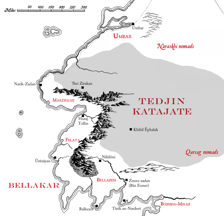 Kingdom of Bellakar in early Third Age